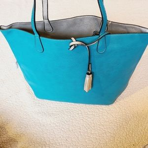 B. Boutique by evergreen NWT reversible tote bag